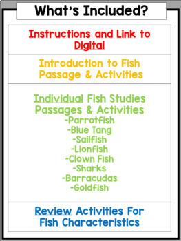 Fish Nonfiction Unit