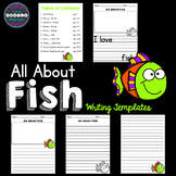 All About Fish: Writing Templates