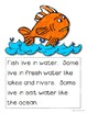 All About Fish a non fiction book for beginning readers