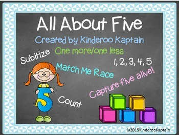 All About Five! Numeracy Activities