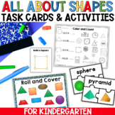 Flat and Solid Shapes Geometry for Kindergarten and First Grade