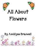 All About Flowers Book and Writing Paper