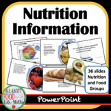 All About Food Groups and MyPlate