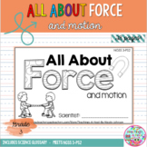 All About Force NGSS mini-book