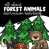 All About Forest Animals Habitat Interactive Notebook and