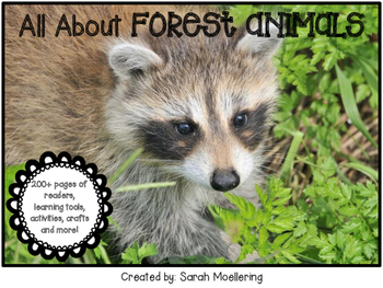 All About Forest Animals! (Nonfiction research on 5 forest animals)