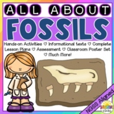 All About Fossils: NGSS Unit Aligned with 3-LS4-1 and 4-ESS1-1!