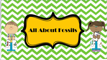 All About Fossils for the Smart Board