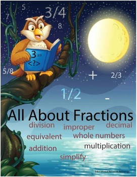 All About Fractions: Worksheets – The Complete Set