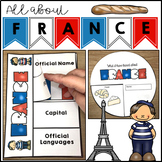 France Geography Maps Activities