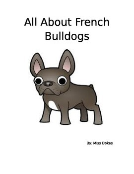 All About French Bulldogs Book