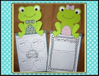 All About Frogs - Craft and Wrtiting Activities