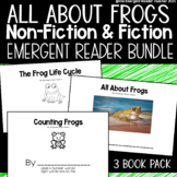All About Frogs: Emergent Reader Book Bundle