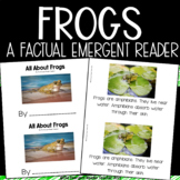 All About Frogs Non-Fiction Emergent Reader