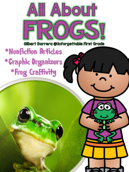 All About Frogs {Nonfiction Unit}