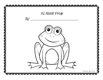 All About Frogs Pack