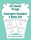 All About Frogs Emergent Readers 2 Book Set
