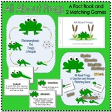 All About Frogs: Reading Comprehension Set-2 Matching Games and a Student Book