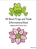 All About Frogs and Toads Research Project