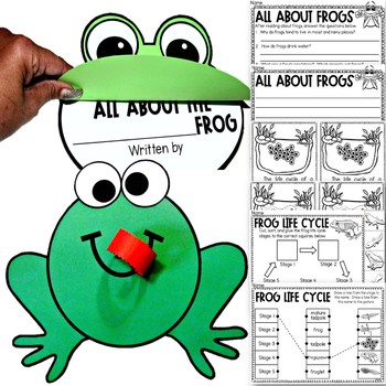 All About Frogs for Young Learners