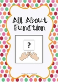 All About Function - Vocabulary and Sentence Building Activities