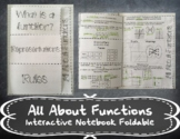 All About Functions Foldable
