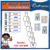 All About Gases Interactive Foldable Booklets - EBOOK