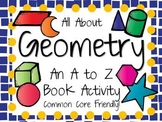 All About Geometry: An A to Z Book Activity