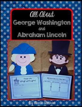 Presidents George Washington and Abraham Lincoln
