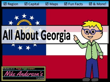 All About Georgia | US States | Activities & Worksheets