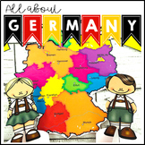 All About Germany Geography Maps and Activities