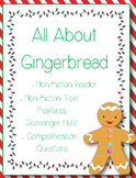 All About Gingerbread non-fiction reader