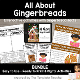 All About Gingerbreads: A Non-Fiction Book, Power Point, and Activities BUNDLE