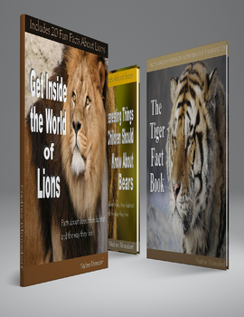All About Giraffes, Lions, Tigers, Bears, Monkeys and Elephants BUNDLE Pack