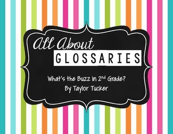 All About Glossaries