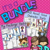 All About Good Character Traits and My Feelings Pack BUNDLE!