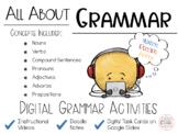 All About Grammar BUNDLE Digital Grammar Activities - Dist
