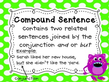 All About Grammar & Sentences Combo Pack - Monster Theme
