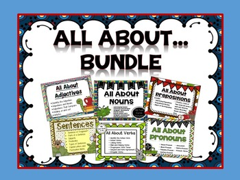 All About... Grammar Series Bundle