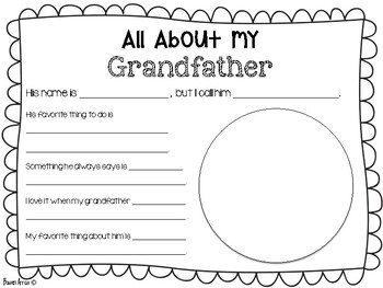 All About Grandparents Freebie