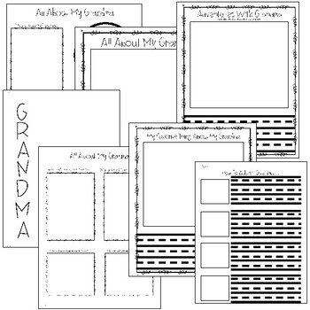 All About Grandparents - Grandparent's Day