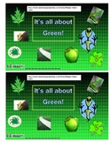 All About Green  Postion Word Guided Reader