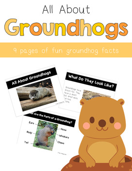 All About Groundhogs PowerPoint