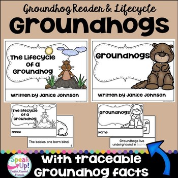 All About Groundhogs Reader & Groundhog Lifecycle