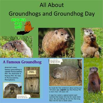 All About Groundhogs and Groundhog Day