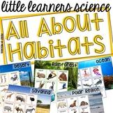 All About Habitats- (Ocean, Savanna, Rainforest, Desert, P