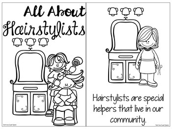 All About Hairstylists: Interactive Book and Homework Companion