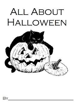 All About Halloween: Halloween Read Along Book