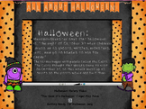 All About Halloween Activinspire Flip Chart