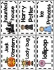 All About Halloween Word Wall Picture & Word Cards